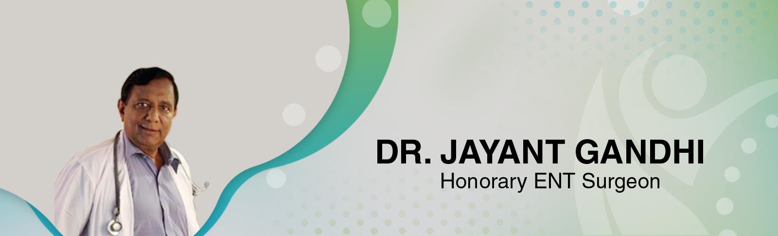Dr. Jayant Gandhi